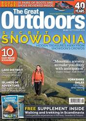 TGO - The Great Outdoors Magazine issue September 2018