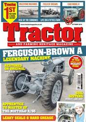 Tractor & Farming Heritage Magazine issue October 2018