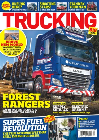 Trucking Magazine issue September 2018