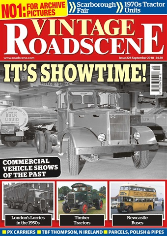 Vintage Roadscene issue September 2018
