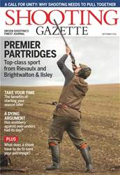 Shooting Gazette issue September 2018