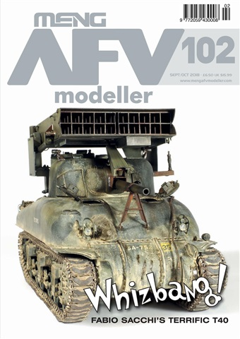 Meng AFV Modeller issue AUG