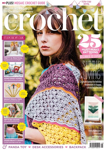 Inside Crochet Magazine Issue 105 Subscriptions Pocketmags