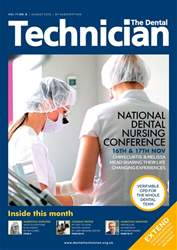 The Dental Technician Magazine issue August 2018