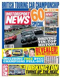 Motorsport News issue 15th August 2018