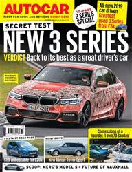 Autocar issue 15th August 2018