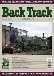 Backtrack issue September 2018