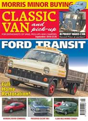 Classic Van & Pick-up issue September 2018