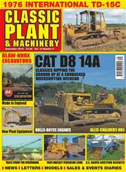 Classic Plant & Machinery issue September 2018