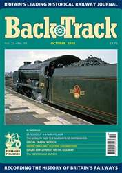 Backtrack issue October 2018