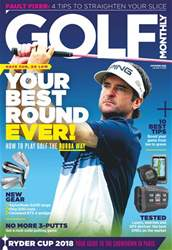 Golf Monthly issue September 2018