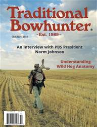 Traditional Bowhunter Magazine issue Oct/Nov 2018