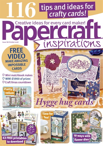 Papercraft Inspirations Magazine October 2018 Subscriptions