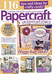 Papercraft Inspirations issue October 2018
