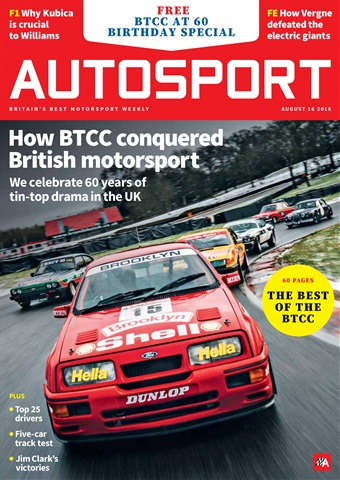 Autosport issue 16th August 2018