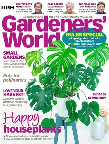 Gardeners' World issue September 2018
