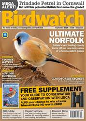 Birdwatch Magazine issue September 2018 - FREE GUIDE TO CONSERVATION AND OBSERVATION WITH LEICA