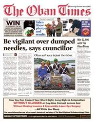 The Oban Times & Lochaber Times issue 16th August 2018