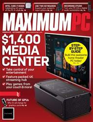 Maximum PC issue September 2018