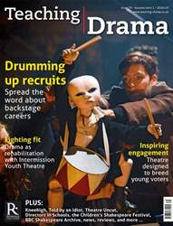 Teaching Drama issue Autumn 1 - 2018/2019