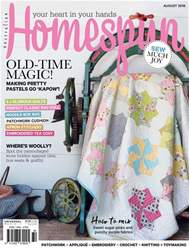 Homespun issue Issue#19.8 2018
