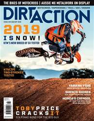 Dirt Action issue Issue#224 Aug 2018