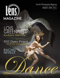 Lens Magazine issue Issue #47 August 2018. DANCE