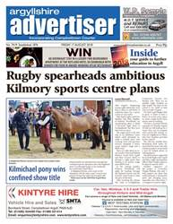 Argyllshire Advertiser issue 17th August 2018