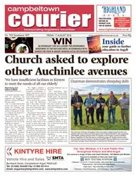 Campbeltown Courier issue 17th August 2018