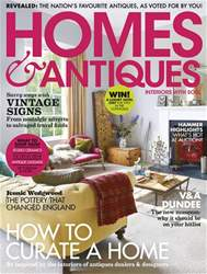 Homes & Antiques Magazine issue September 2018