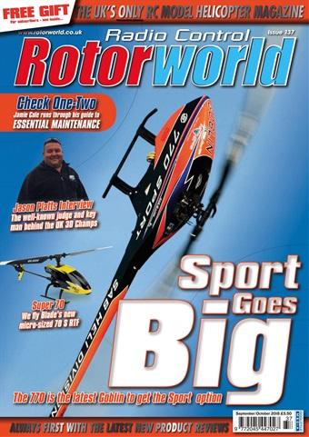 Radio Control Rotor World issue 137 Sep Oct 2018