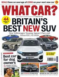 What Car Magazine issue September 2018