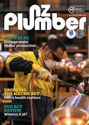 NZ PLUMBER issue NZ Plumber August-September 2018