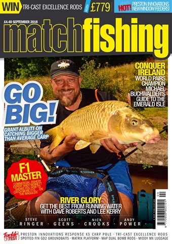 Match Fishing issue September 2018
