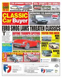 Classic Car Buyer Magazine Cover