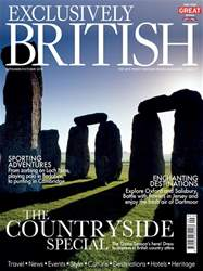 Exclusively British Magazine Cover