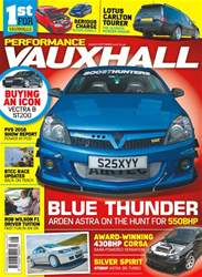 Performance Vauxhall issue Aug-Sept 18