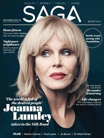 Saga Magazine issue September 2018