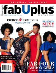 FabUplus Magazine issue Fall 2018