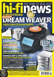 Hi-Fi News issue Oct-18
