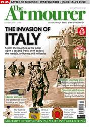 The Armourer issue October 2018  – INVASION OF ITALY  SPECIAL