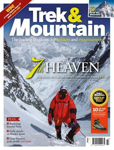 Trek & Mountain Magazine issue Jul-Aug 18