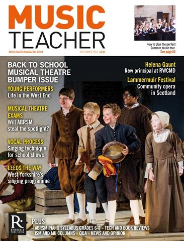 Music Teacher issue September 2018