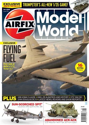 Airfix Model World issue   October 2018