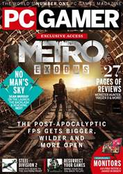 PC Gamer (UK Edition) issue October 2018