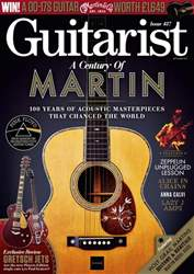 Guitarist issue September 2018