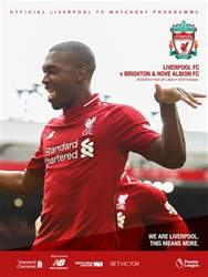 vs Brighton & Hove Albion 18/19 issue vs Brighton & Hove Albion 18/19