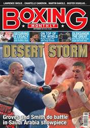 Boxing Monthly issue September 2018