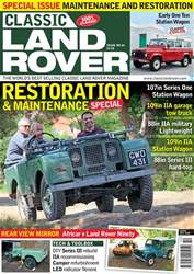 Classic Land Rover Magazine issue   October 2018