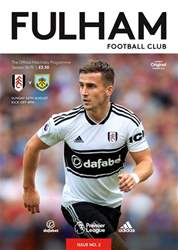 Fulham Vs Burnley 2018/19 issue Fulham Vs Burnley 2018/19